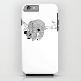 Panda in Camouflage iPhone Case