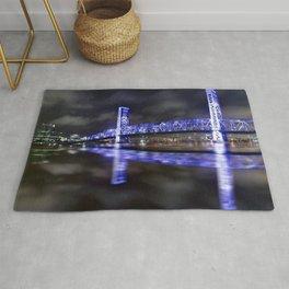 Reflection of Blue Bridge Rug