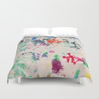 monet Duvet Covers featuring Monet Day by Ryan van Gogh