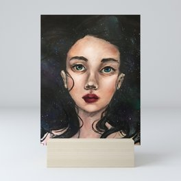 Lyra (portrait) Mini Art Print