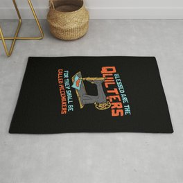 Quilting Sewing Machine Gift Rug
