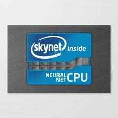 Skynet Inside Canvas Print