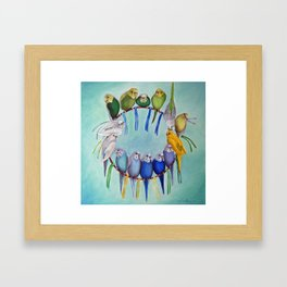 Joycatcher Framed Art Print