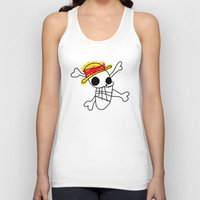 luffy Tank Tops featuring Luffy Laboon by rKrovs