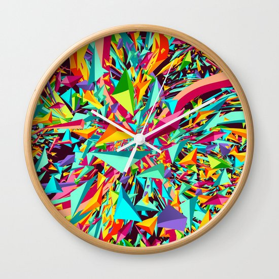 Candy Explosion Wall Clock