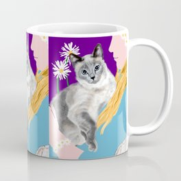 Tasha with the Flower Goddess Coffee Mug