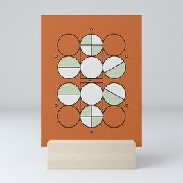 'Joy'metric Circles Mini Art Print