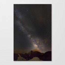 Milky way at 3400 meter hight. Scorpius and Sagitarius Canvas Print