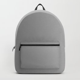 Gray to White Vertical Linear Gradient Backpack