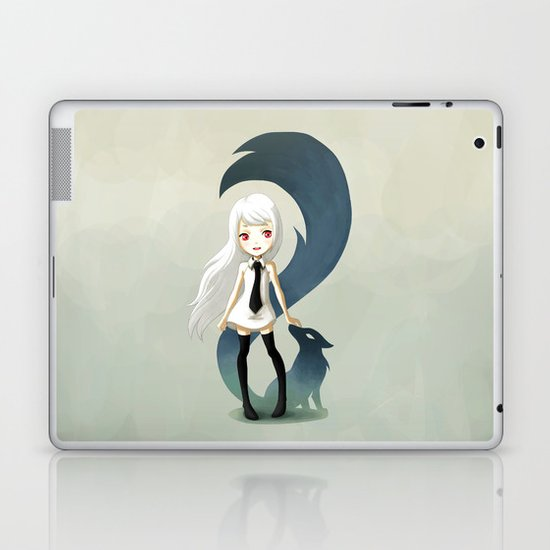 Fox Daemon Laptop & iPad Skin
