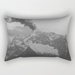 Volcano black and white Rectangular Pillow