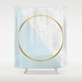 Golden ring I Shower Curtain