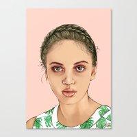 venus Canvas Prints featuring VENUS by Laura O'Connor