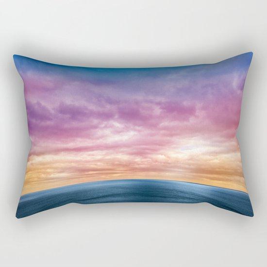 Rainbow Planet Rectangular Pillow