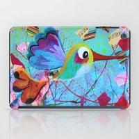 hemingway iPad Cases featuring Hemingway - Quirky Bird Series by Hyla Zest