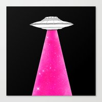 ufo Canvas Prints featuring UFO by Beyond Infinite