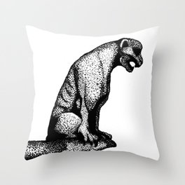 Gargoyle's Pet Throw Pillow