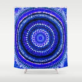 Vibrant Mind Mandala Shower Curtain
