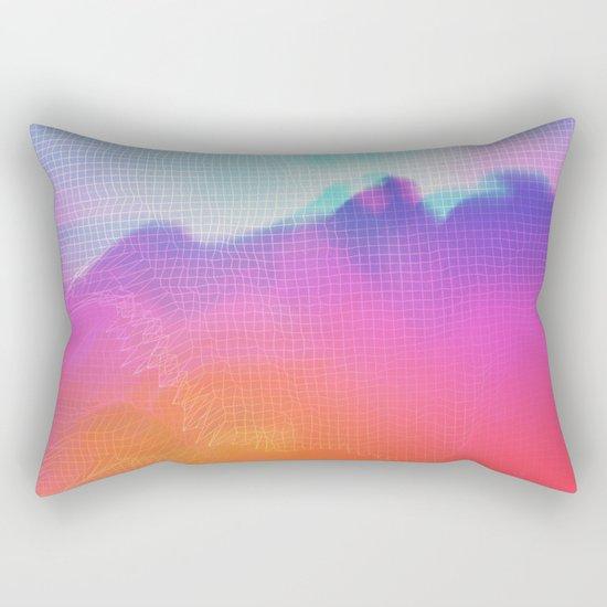 Glitch 04 Rectangular Pillow
