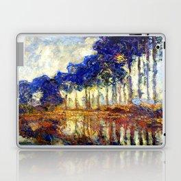 Monet : Poplars on the Banks of the River Epte, 1891 Laptop & iPad Skin