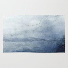 Abstract Indigo No. 2 Rug