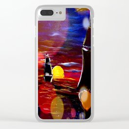 Ships Sail to the Sun Clear iPhone Case
