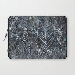 Busy Forest Print Laptop Sleeve