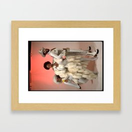 Brides of Funkenstein and the Doctor Framed Art Print