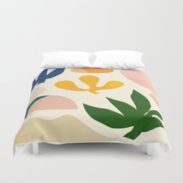 Abstraction_Floral_001 Duvet Cover