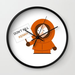 Don't Kill Kenny! Wall Clock
