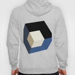 3D effect cube Hoody
