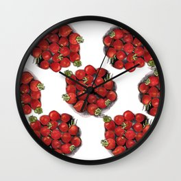 Mini tomatoes Wall Clock