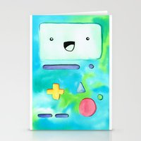 bmo Stationery Cards featuring BMO by Lauren Reed Art