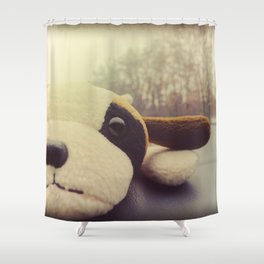 And I Thought I'd Live Forever, but Now I'm Not So Sure. Shower Curtain