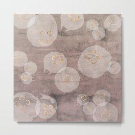 Rose Quartz Jellies Metal Print