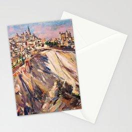 Toledo, Spain by David Bomberg Stationery Cards