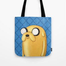 Jake Adventure Time Tote Bag