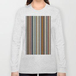 Nordic Stripes Vertical Pattern Long Sleeve T-shirt