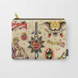 The Legend of Zelda: An Ink to the Past Carry-All Pouch