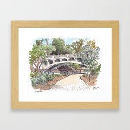 Arboretum Bridge, UC Davis Framed Art Print
