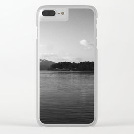 View on the Loch Clear iPhone Case