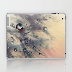 dandelion baby pink and blue Laptop & iPad Skin