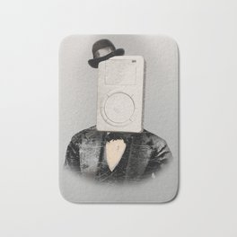 Faces of the Past: Mp3 Player Bath Mat