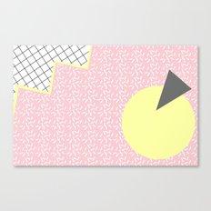 MEMPHIS PINK Canvas Print