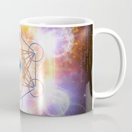 """Aad Guray Nameh""- Merkaba-  Protective energy of the Universe Coffee Mug"