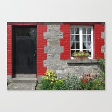 Cottage Window Canvas Print