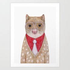 Spotted Quoll Art Print