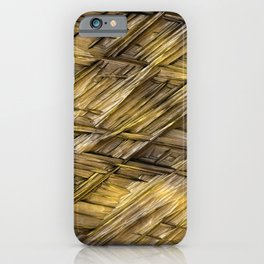 Grannys Hut - Structure 1A iPhone Case
