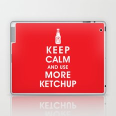 Keep Calm and Use Ketchup Laptop & iPad Skin