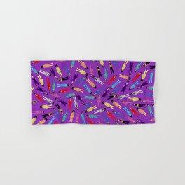 Purple Pattern 2 Hand & Bath Towel